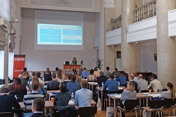 Состоялся первый обучающий семинар по проектированию сталежелезобетонных конструкций по Еврокоду 4